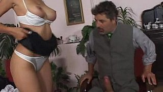 Biz meeting ends with hard anal sex