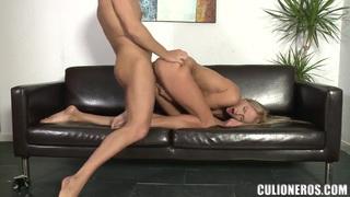 Sweet Ivana Sugar is sucking her boys dick