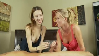BJ 101: Mother Teaching Not Her daughter Pt1 (HD 720p)