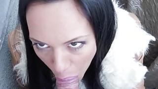 Big tits Eurobabe Charlotte sex for cash