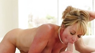 Shayla is a milky white big titty love milf