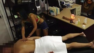 Tight asian pawns her twat and fucked