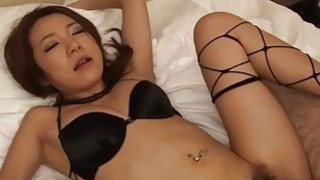 Kanako Tsuchiyo provides serious blowjob before hard sex