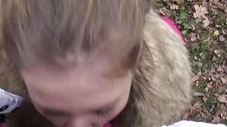 Czech babe Lilia Rafael nailed for cash