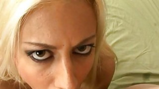 Sexy sweetheart is dude with wicked blow job