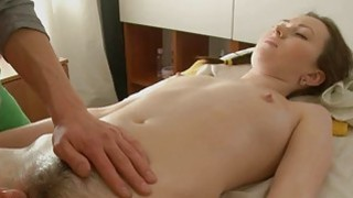 Beauty is giving man a wet oral sucking