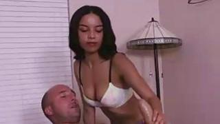 Teen Masseuse Treats A Hard Cock Her Way