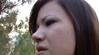 Brunette teen enjoys fucking with her stepdad