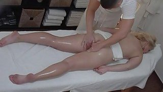 Beautiful Model Gets Dick instead of Massage