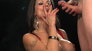 Smoking hot blowjob