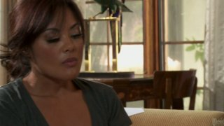 Stressed Kaylani Lei fucks the guy to heal her mind