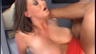 Beautiful and busty babe Sara Stone loves freaky sex